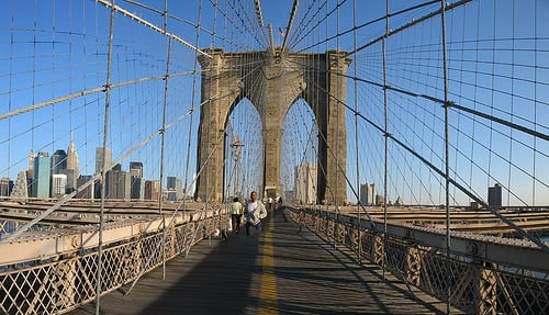 8 Brooklyn Bridge pano