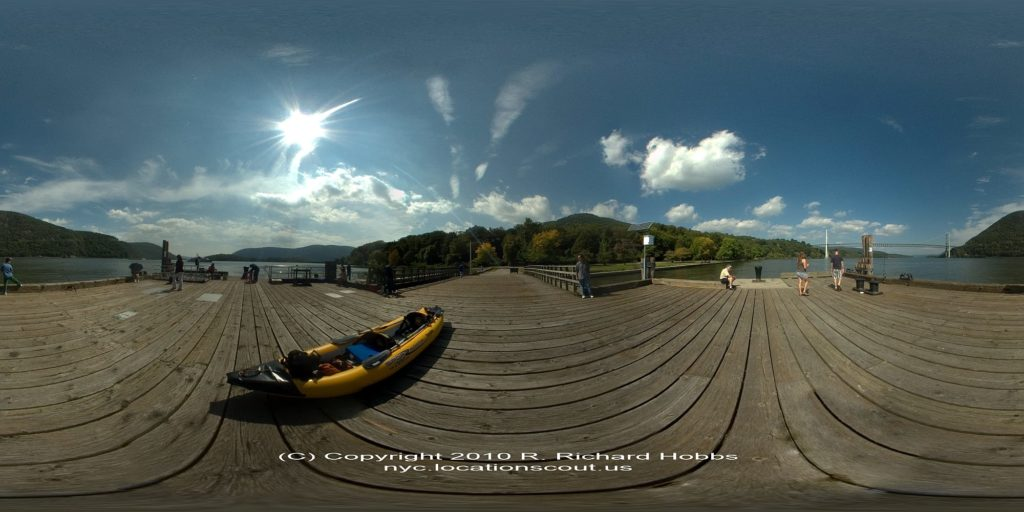 Location Scout VR Pano: Bear Mountain Dock