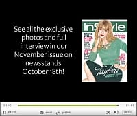 InStyle Taylor Swift Video November 2013